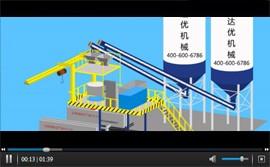 石膏墙板设备_视频演示动画效果图