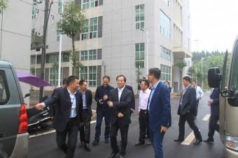 热烈欢迎四川省政协副主席、省工商联主席陈放一行领导莅临达优视察指导工作