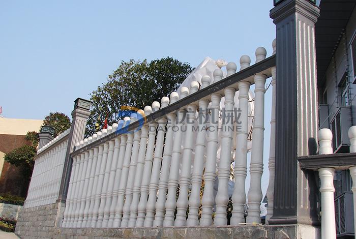 水泥艺术围栏产品展示(企业单位)